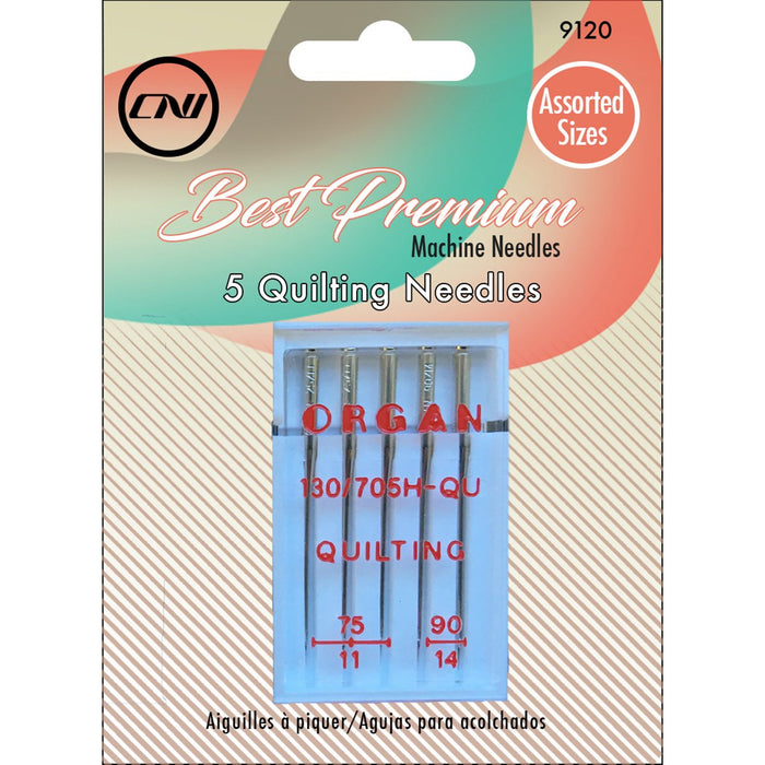 Quilting Needles 5pk Sizes 75/11, 90/14