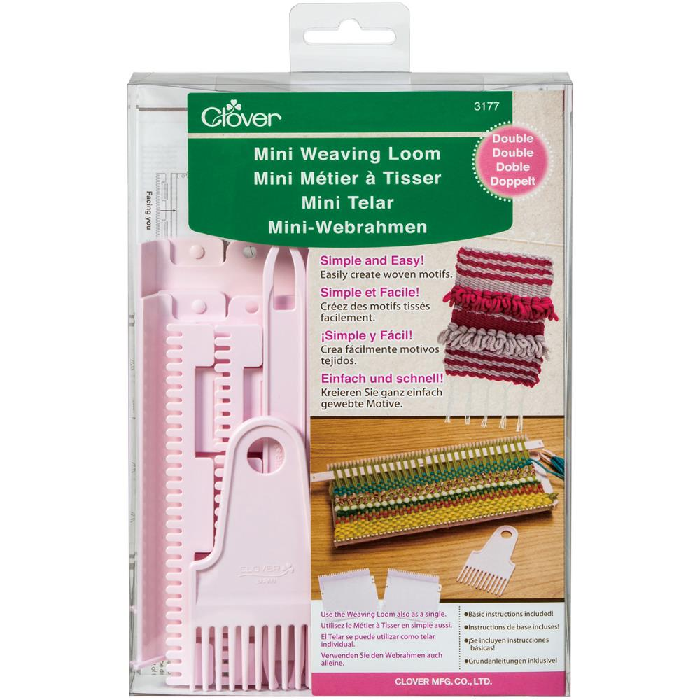 Clover Double Mini Weaving Loom