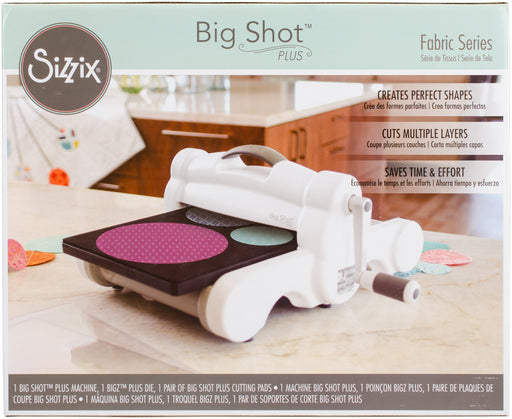 Sizzix Big Shot Fabric Series Starter Kit White & Gray