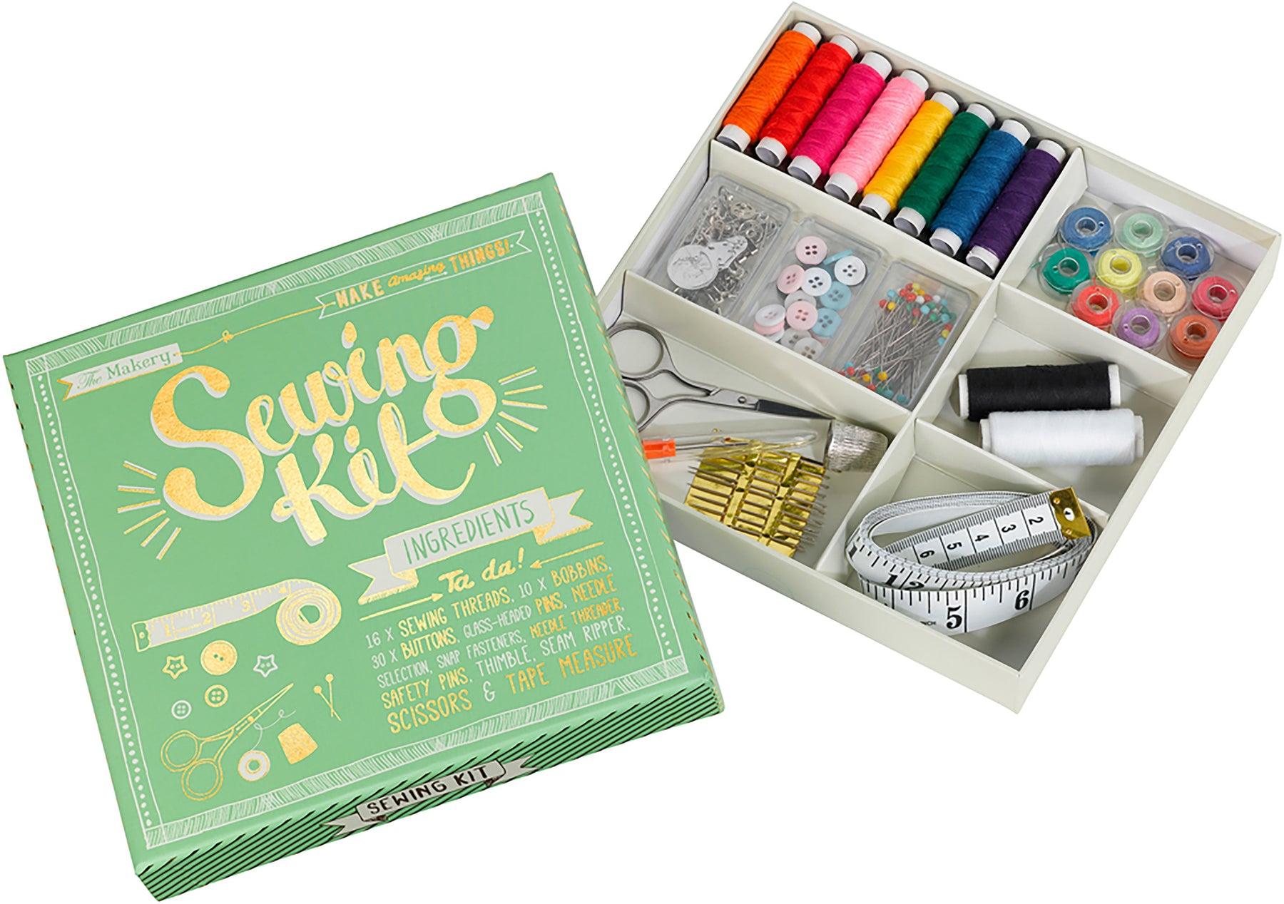 The Makery Sewing Kit Boxed