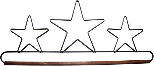Fabric Holder With 16in Dowel 3 Stars 89327