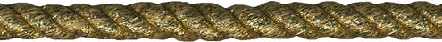 Jumbo Metallic Twisted Cord Gold .5inX12yds