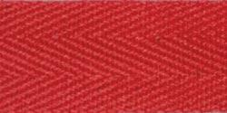 100% Cotton Twill Tape Red 1inX55yds