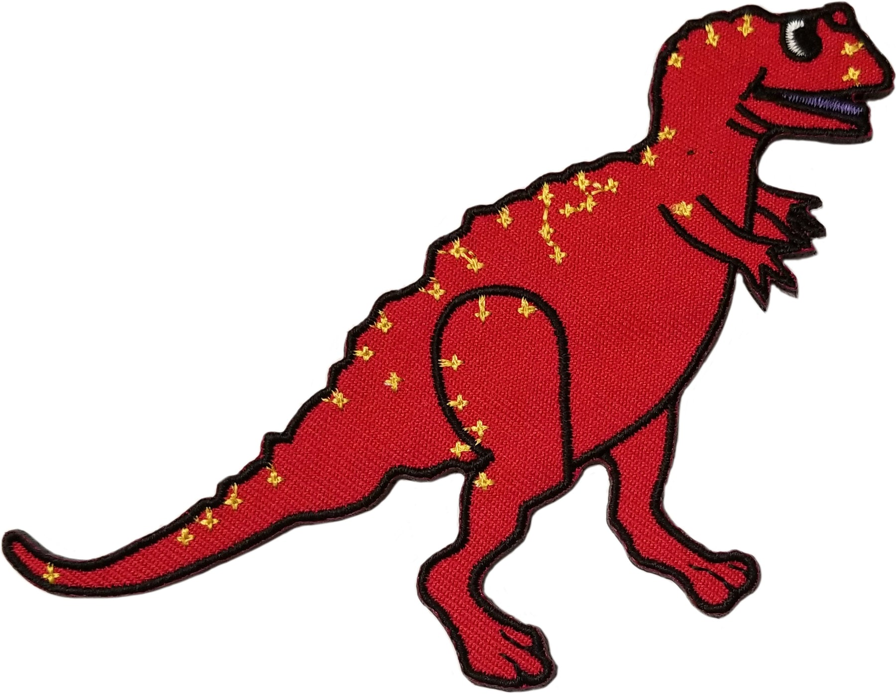 C&D Visionary Patch Red Dinosaur