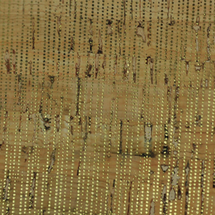 Belagio Packaged Cork Fabric 18inX15in Natural Gold BPC95