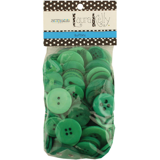 Laura Kelly 5.5oz Assorted Buttons Forest Green