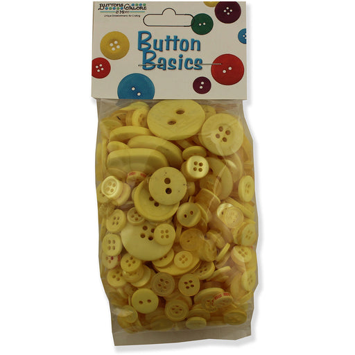 Laura Kelly 5.5oz Assorted Buttons Sunshine Yellow