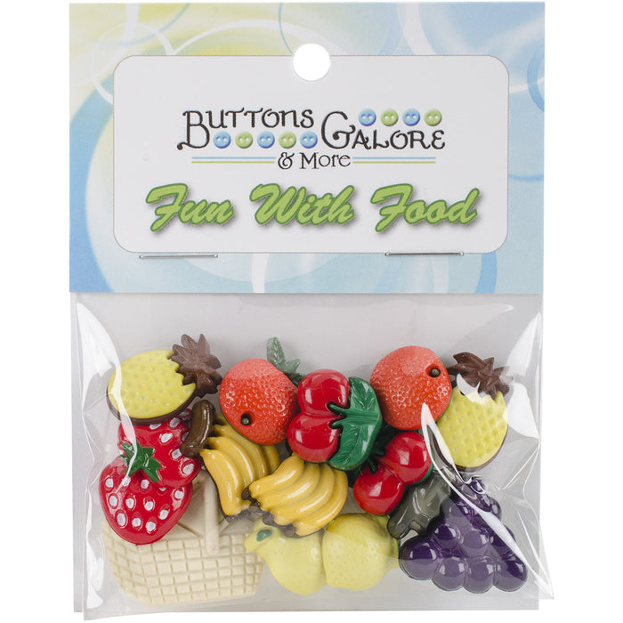 Button Theme Pack Fruit Basket