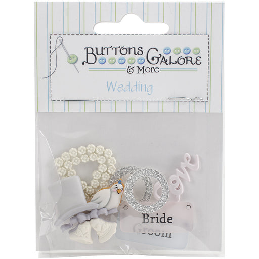 Button Theme Pack Bride and Groom