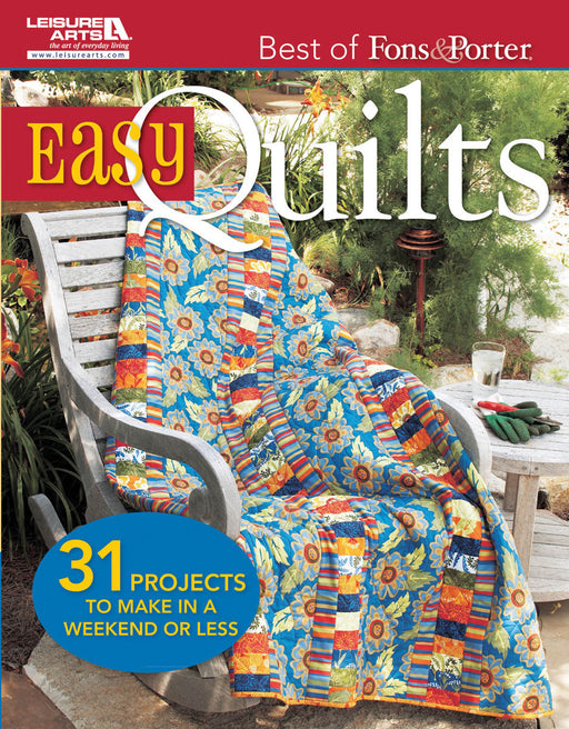Leisure Arts Best Of Fons & Porter: Easy Quilts