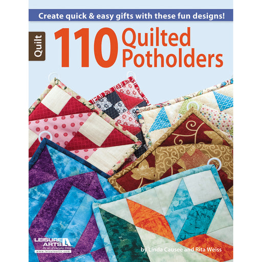 Leisure Arts 110 Quilted Potholders