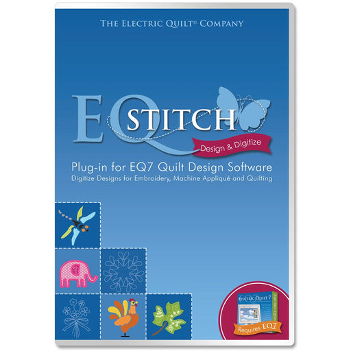 EQStitch Plug-In For EQ7 Quilt Design Software