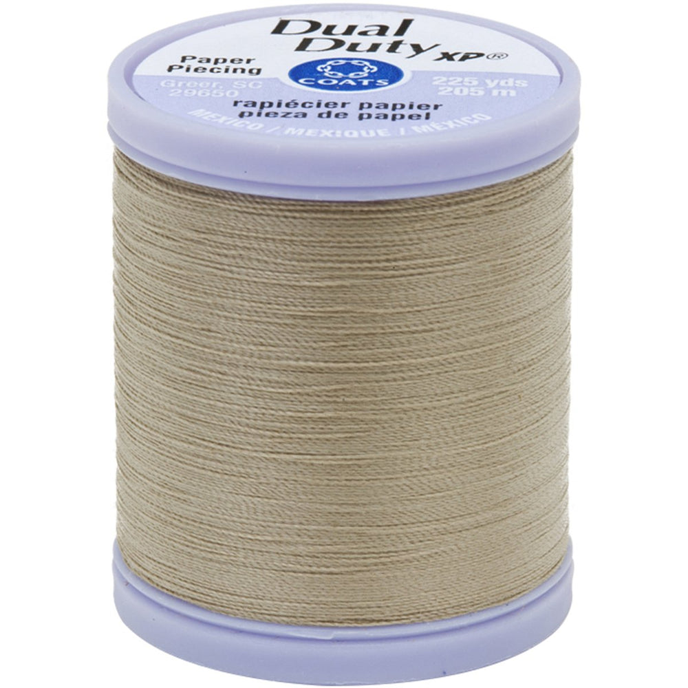 Dual Duty XP Paper Piecing Thread Khaki #8440 225yds