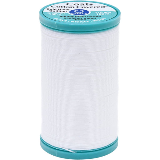Bold Hand Quilting Thread 175yds White #0100