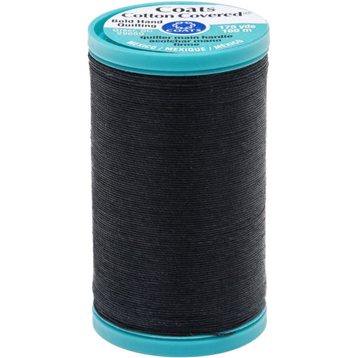 Bold Hand Quilting Thread 175yds Black #0900