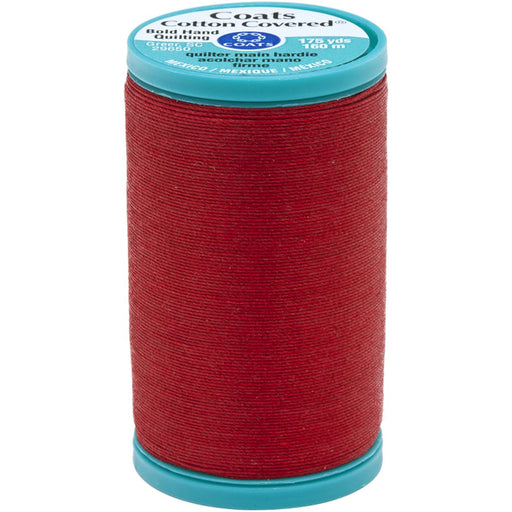 Bold Hand Quilting Thread 175yds Red #2250