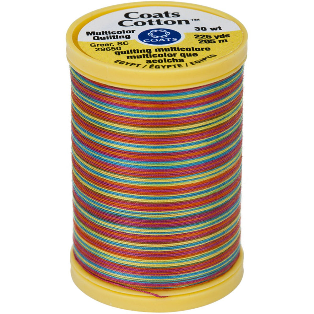 Cotton Machine Quilting Thread Multicolor Gumballs 225yds