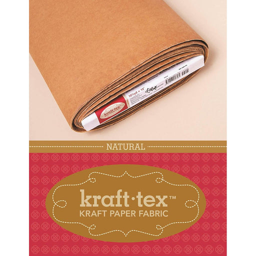 Kraft-Tex Kraft Paper Fabric Natural 19inX10yds