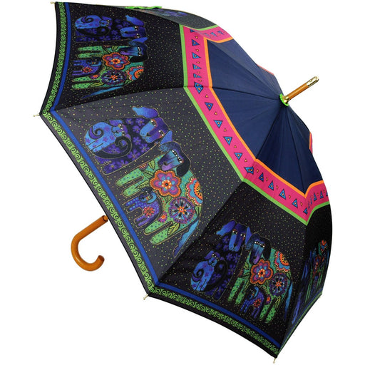 Laurel Burch Stick Umbrella Dogs & Doggies 42in