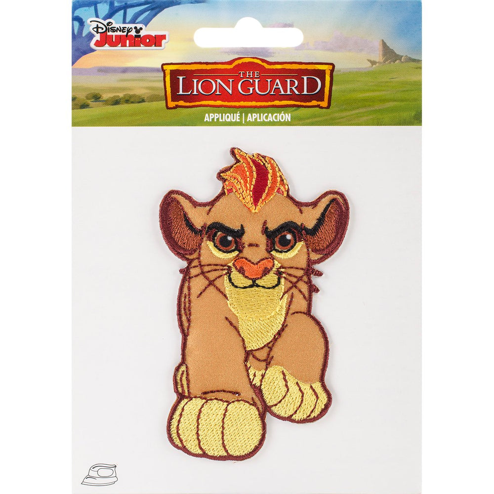 Disney Lion Guard Iron-On Applique Lion Guard