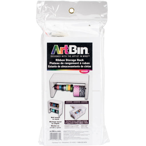ArtBin Ribbon Storage Rack 5.5inX12.125inX5.75in