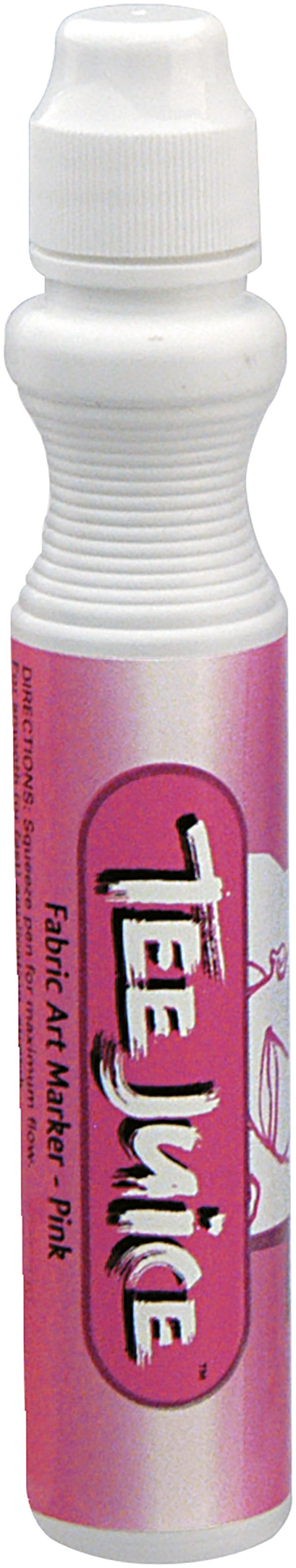 Jacquard Tee Juice Broad Point Fabric Marker Pink