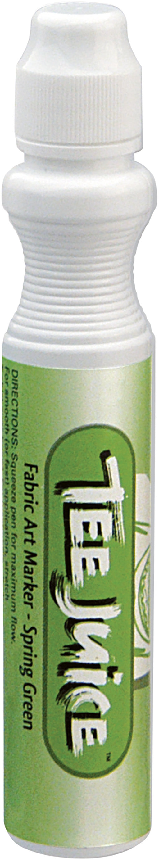 Jacquard Tee Juice Broad Point Fabric Marker Spring Green
