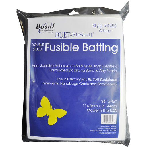 Duet Fuse II Double Sided Fusible Batting 36inX45in