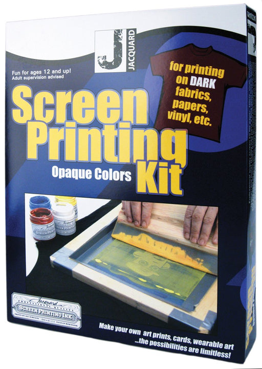 Jacquard Screen Printing Kit Opaque