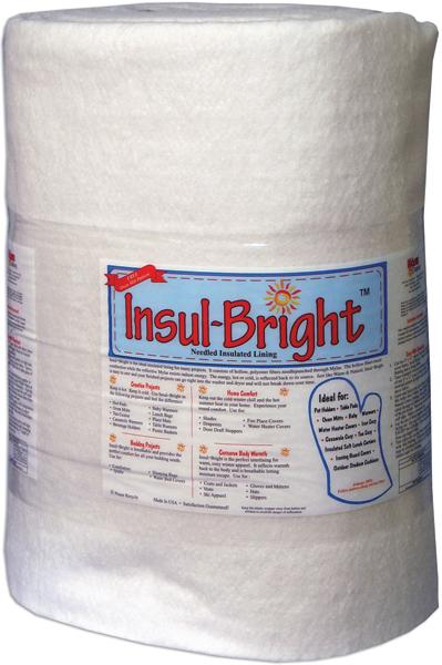 Warm Insul-Bright Insulated Lining 45inX40yds
