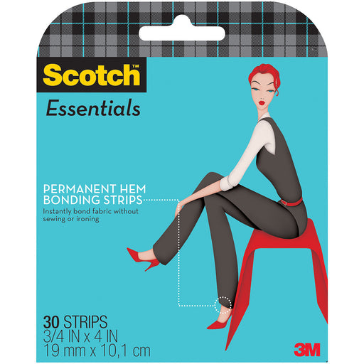 Scotch Essentials Permanent Hem Bonding Strips