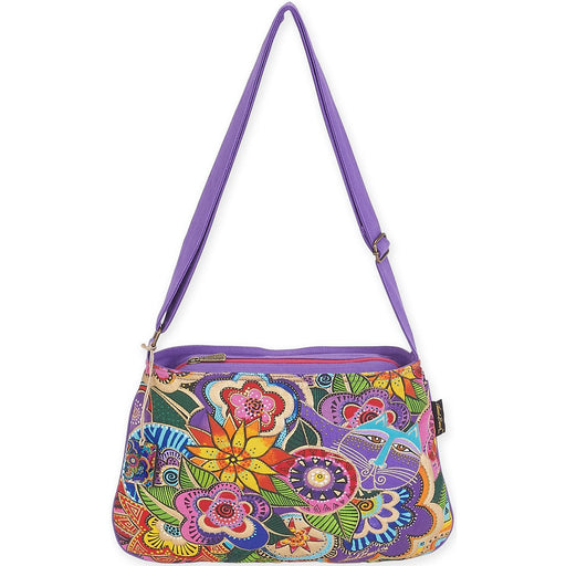 Medium Crossbody Carlotta's Garden 10inX14.5in