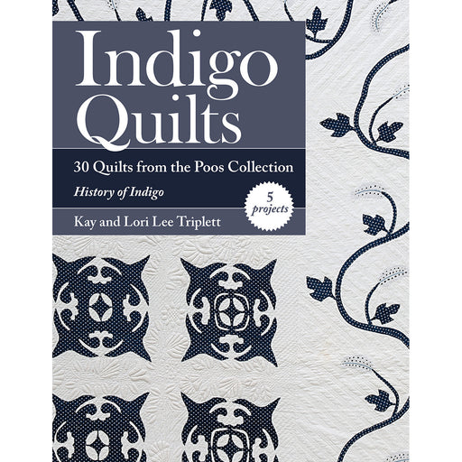 C & T Publishing Indigo Quilts