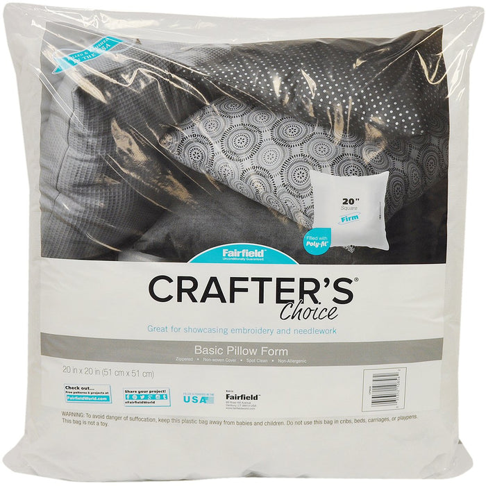 Crafter's Choice Pillow Insert 20inX20in