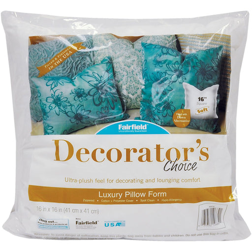 Decorator's Choice Luxury Pillow Form 16inX16in