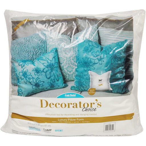 Decorator's Choice Luxury Pillow Form 24inX24in