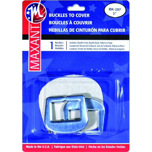 Buckle Cover Kit D-Ring 1in