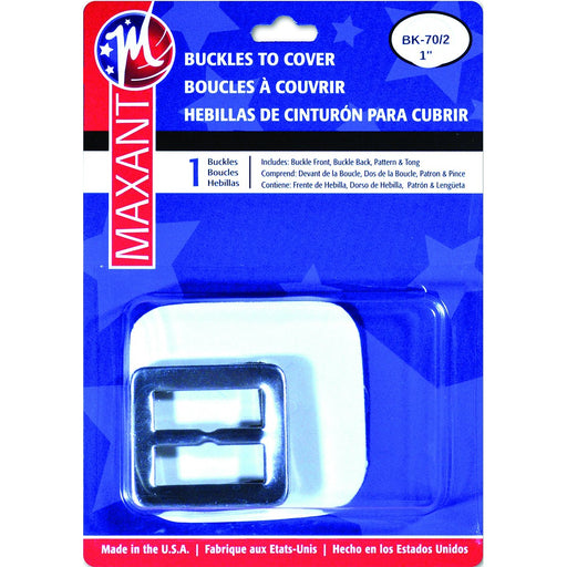 Buckle Cover Kit Square 1in
