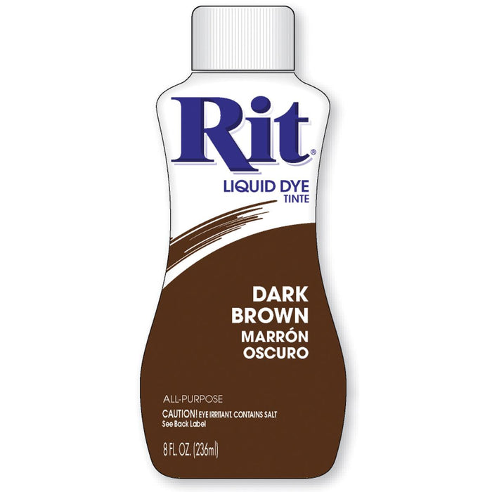 Rit Dye Liquid Dark Brown 8oz