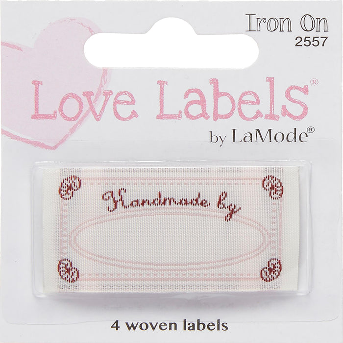 Quilting Labels Iron-On Lovelabels Handmade By