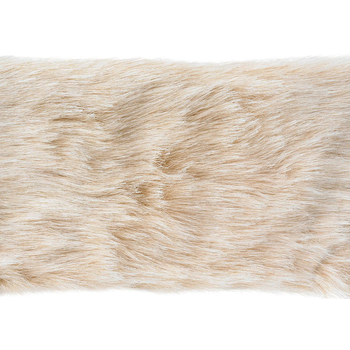 Camel Fur Trim Multi 4inX6yds