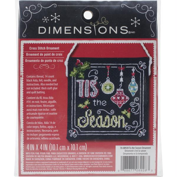 "Dimensions Counted Cross Stitch Kit 55""X8"" 7/Pkg"