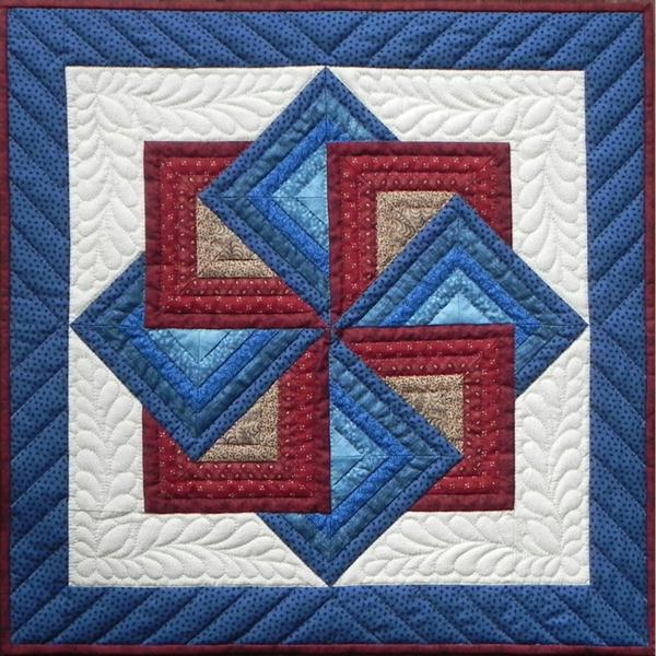 Starspin Wall Quilt Kit 22X22