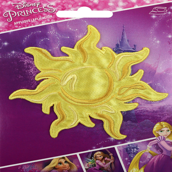 Disney Princess Iron-On Applique Rapunzel Sun