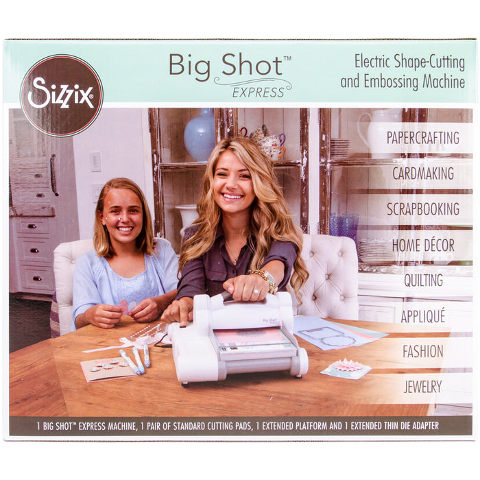Sizzix Big Shot Express Machine (US Version) White with Gray