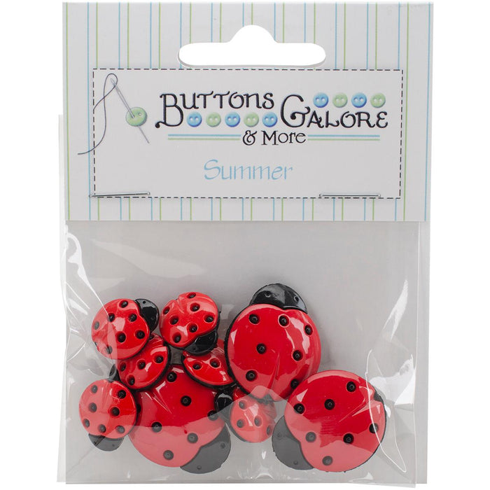 Button Theme Pack Ladybugs