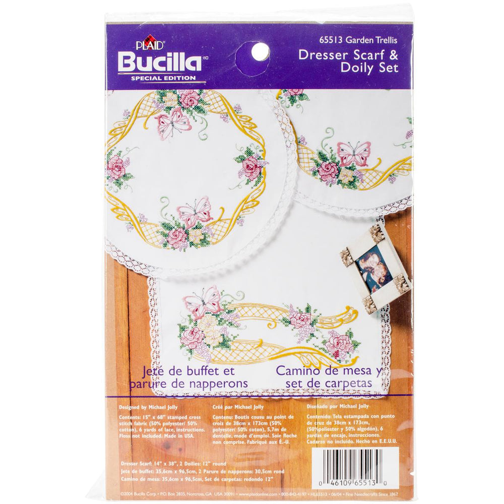 "Bucilla Stamped Embroidery Kit 6"" Round"