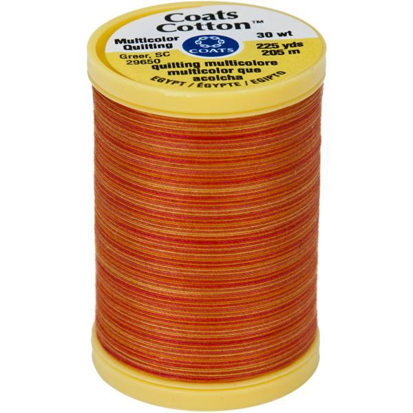 Cotton Machine Quilting Thread Multicolor Canyon Sunset 225yds