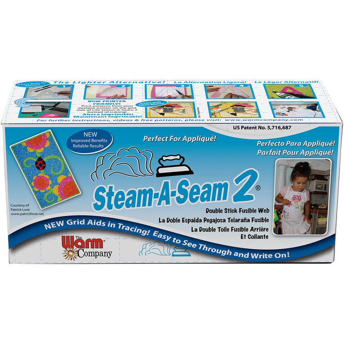 Steam-A-Seam 2 Double Stick Fusible Web 12inX40yds