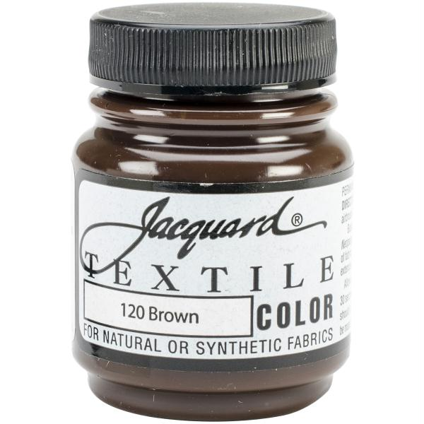 Jacquard Textile Color Fabric Paint 2.25oz Brown